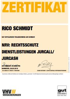 zertifikat-vhv-nrv-rechtsschutz-dienstleistungen-jurcall-jurcash-bild