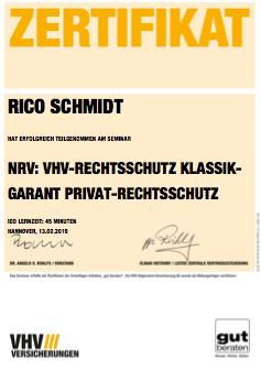 zertifikat-vhv-nrv-rechtsschutz -klassik-garant-privat-rechtsschutz-bild